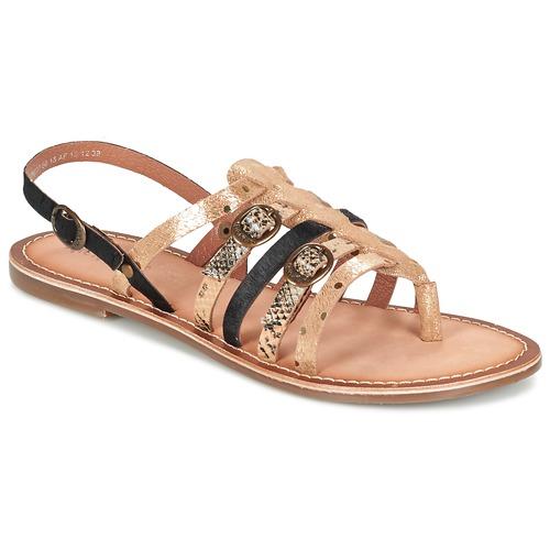 Sandales Kickers Dixmille dorées
