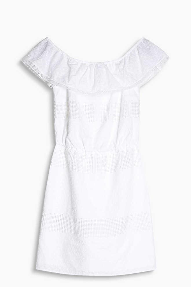http://www.esprit.fr/robes/robe-dentelle-épaules-nues-100-coton-057EE1E015_110