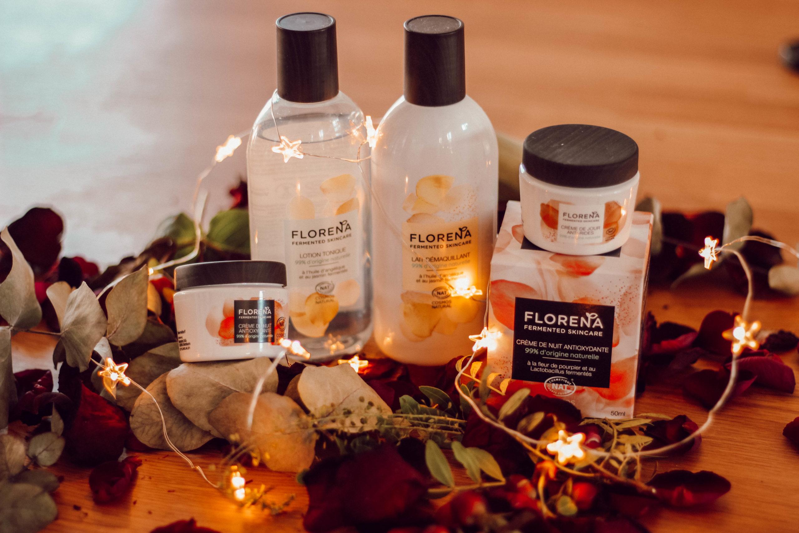 J'ai testé Florena fermented skincare graphic